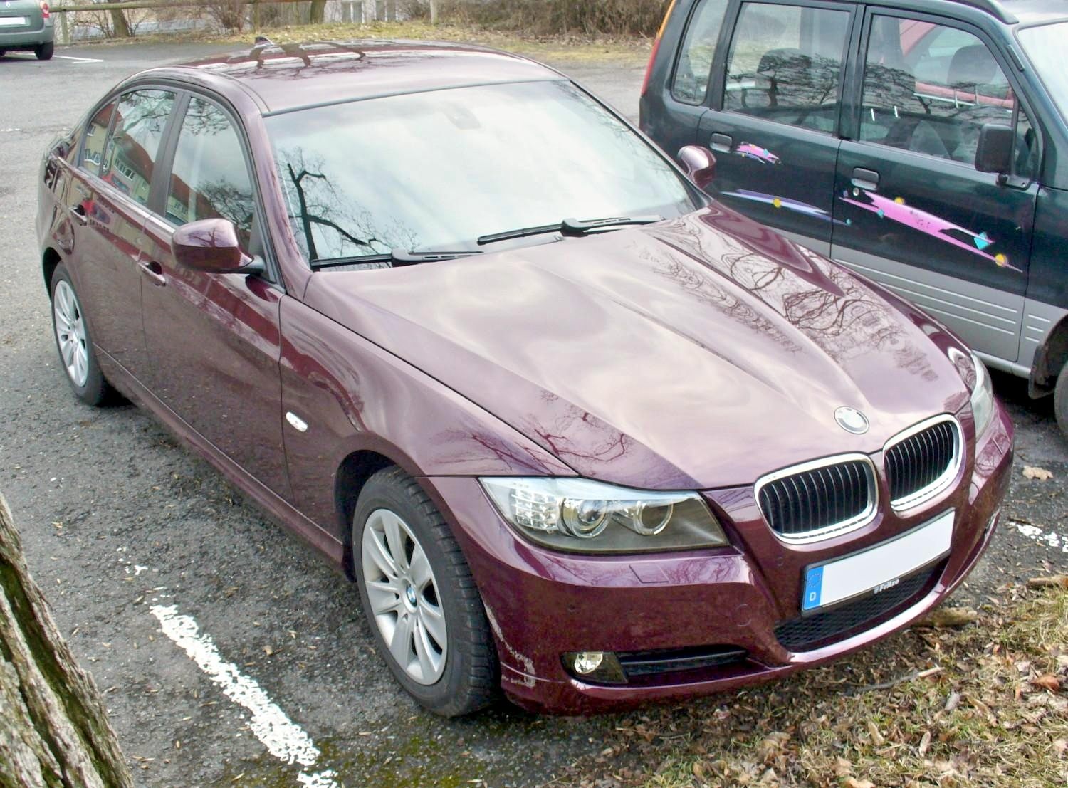 file bmw e90 320d limousine barberarot facelift jpg wikimedia commons. Black Bedroom Furniture Sets. Home Design Ideas