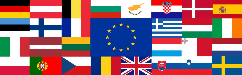 Description bannière drapeaux ue-28