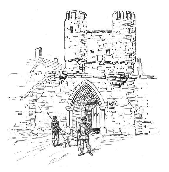 Barbacana es una estructura defensiva medieval