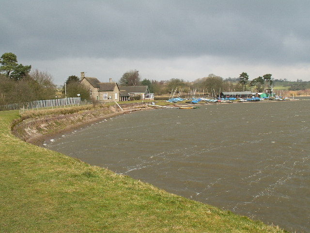 Barnt Green Sailing Club, Upper Bittell Reservoir - geograph.org.uk - 127307