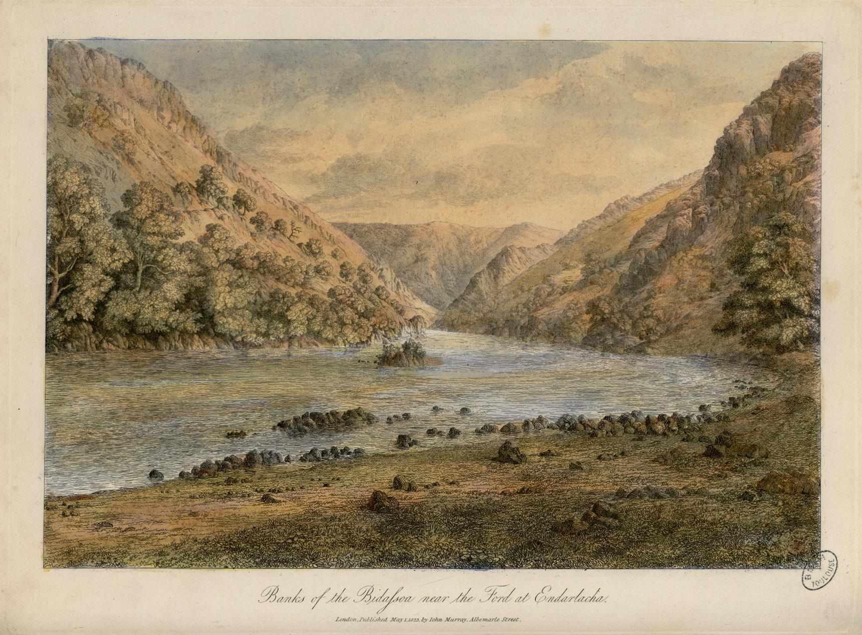 File berges de la bidassoa pr s du passage gu for Portent passage