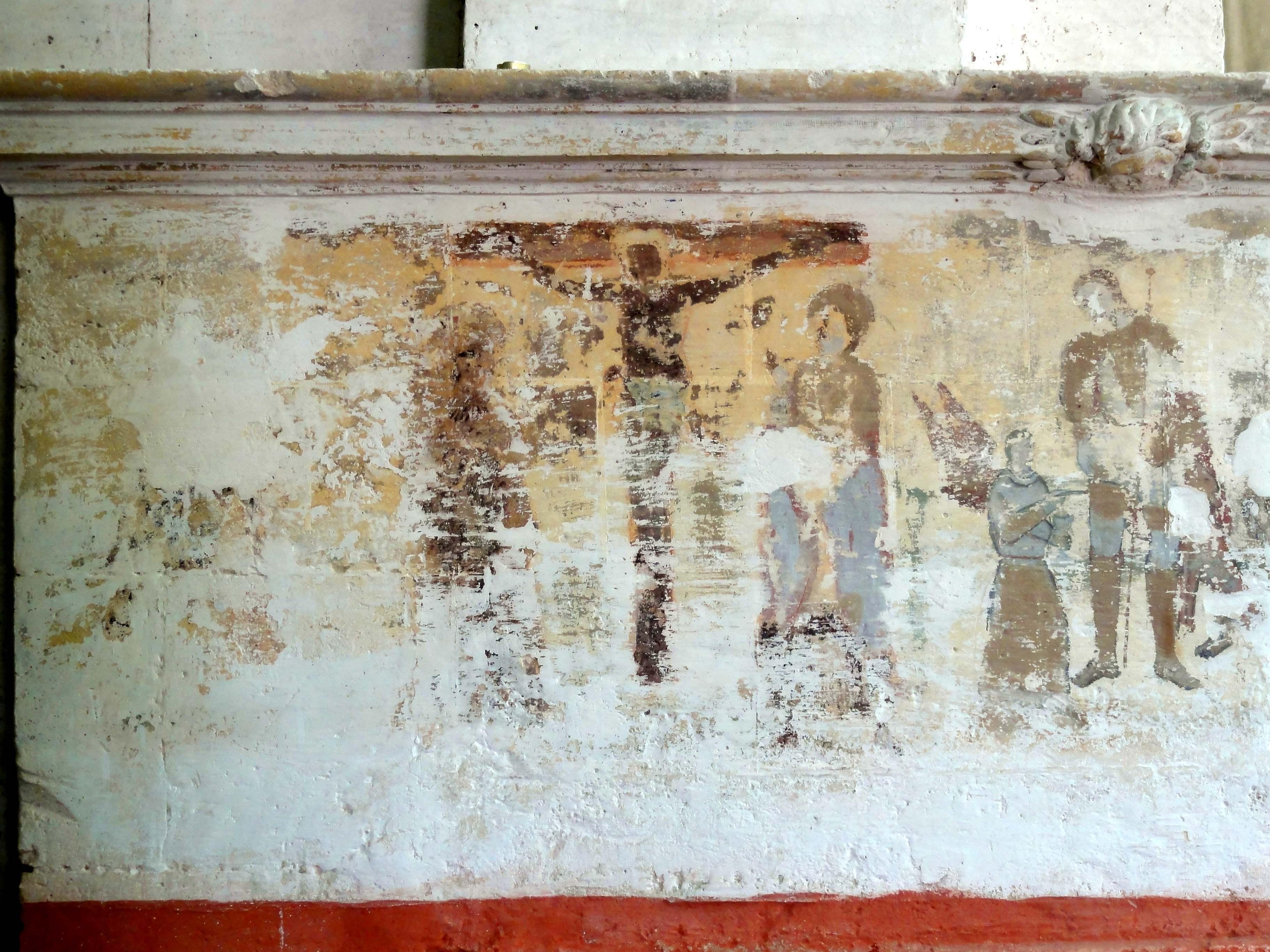File berville 95 glise saint denis bas c t peinture for Les differents types de peintures murales