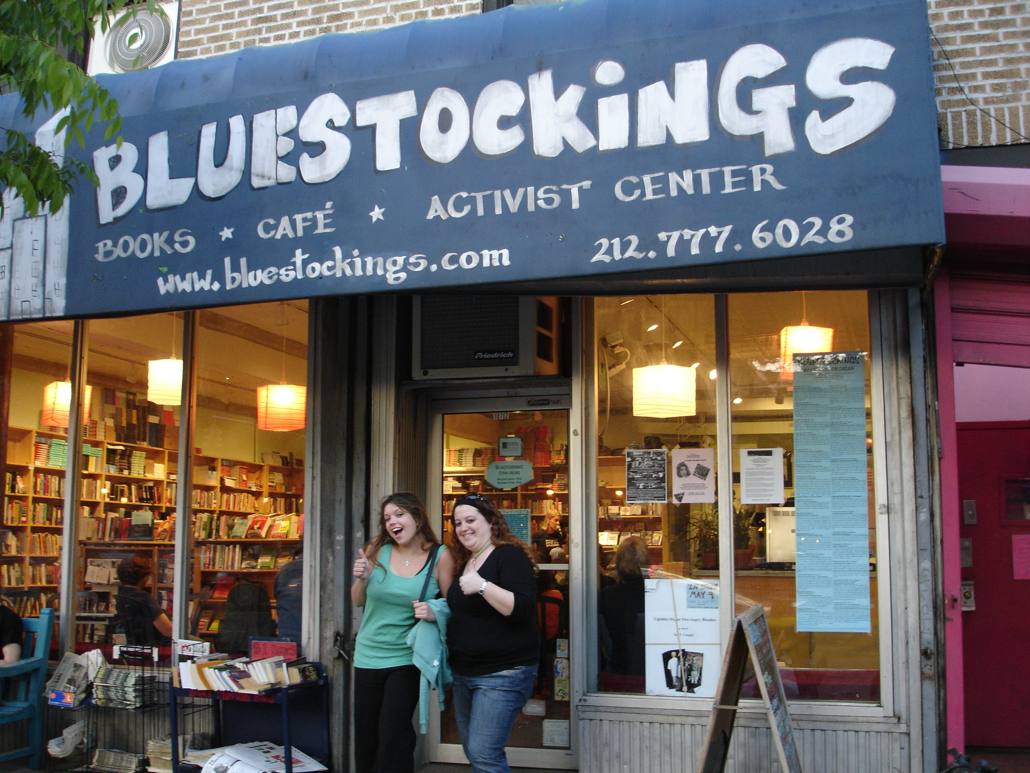 Bluestockings (bookstore) - Wikipedia
