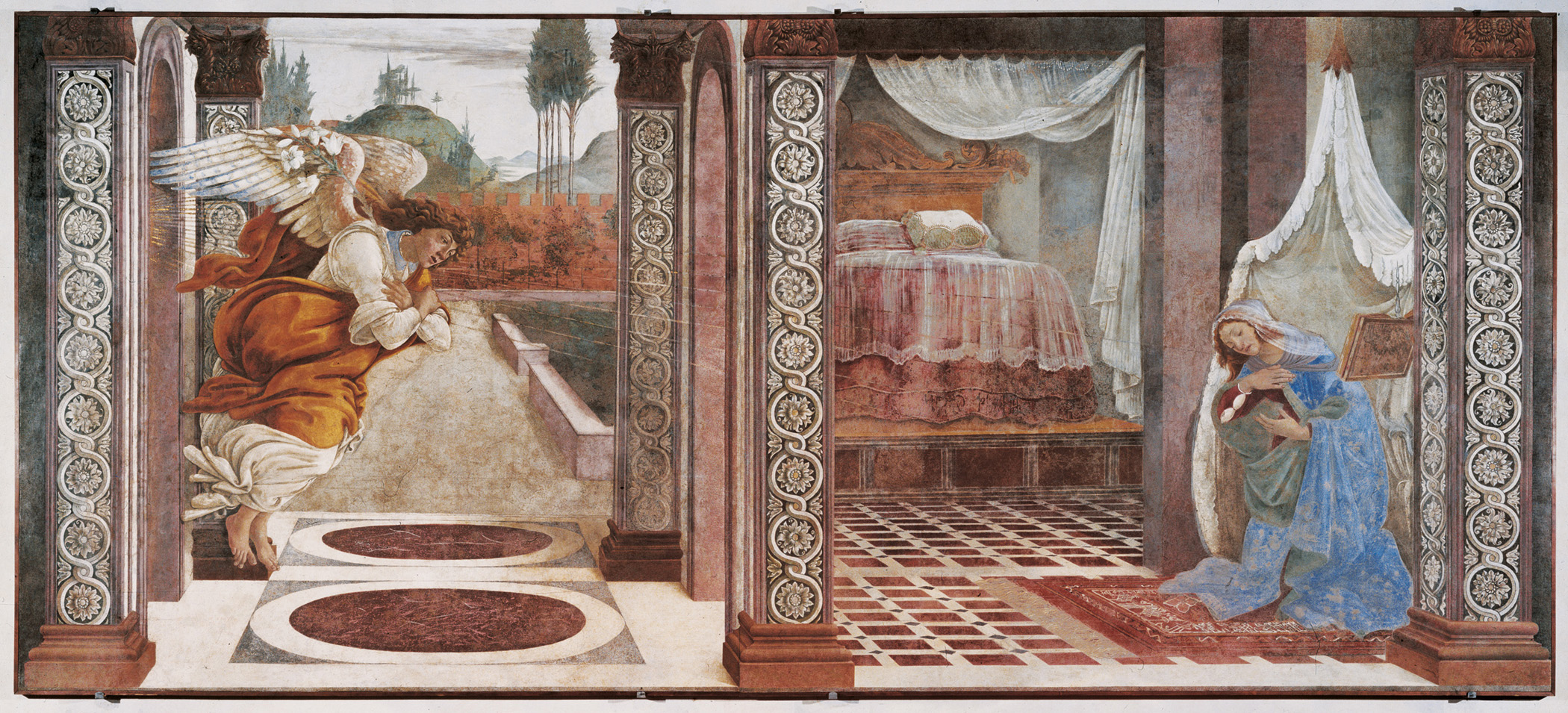 File:Botticelli - Annunciation, 1481 (Uffizi).jpg