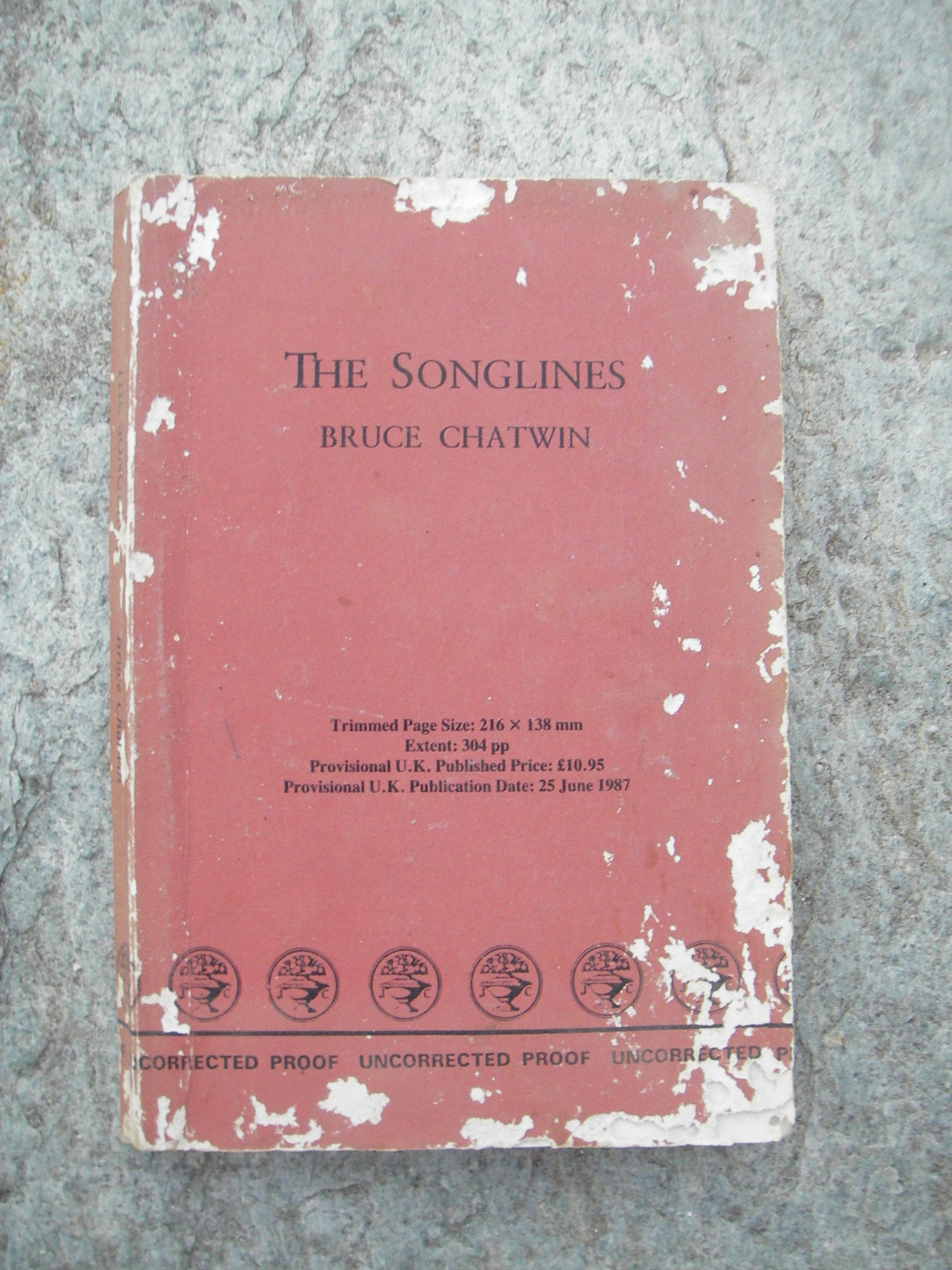 the songlines bruce chatwin pdf