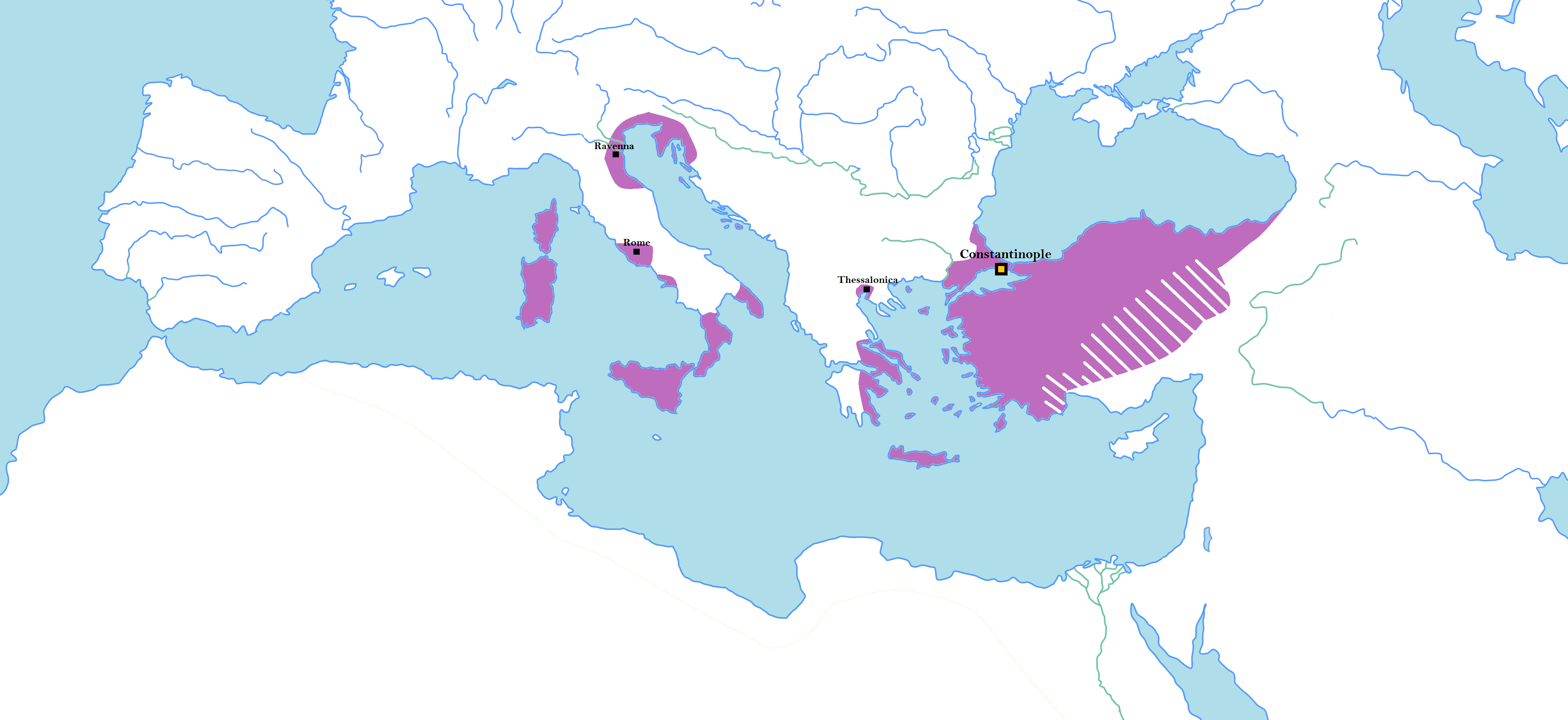 Byzantine Empire under the Isaurian dynasty - Wikipedia