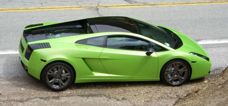 Lamborghini Gallardo мы тебя ждём