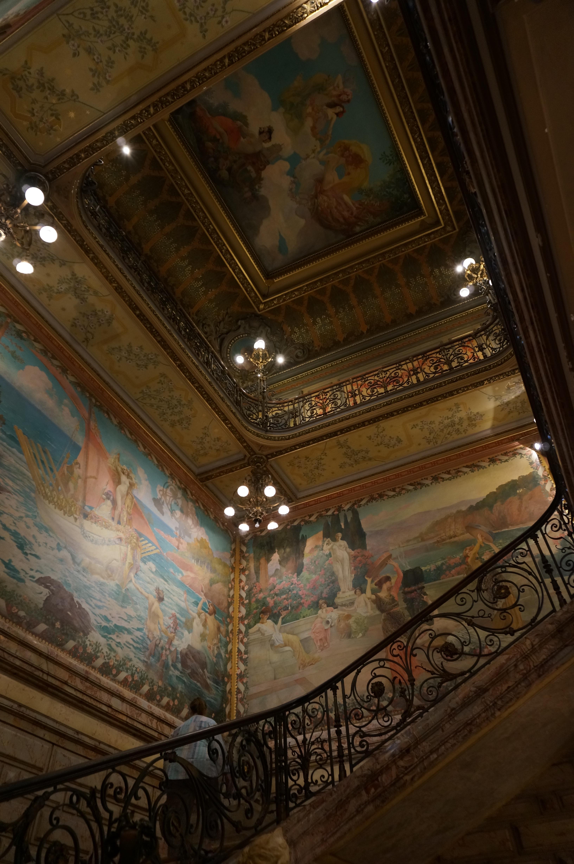 File cage d 39 escalier de l 39 h tel pams jpg wikimedia commons for Tapisser cage d escalier