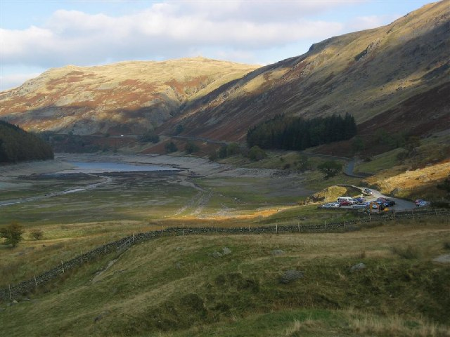 Car Park at the Head of Haweswater - geograph.org.uk - 65716
