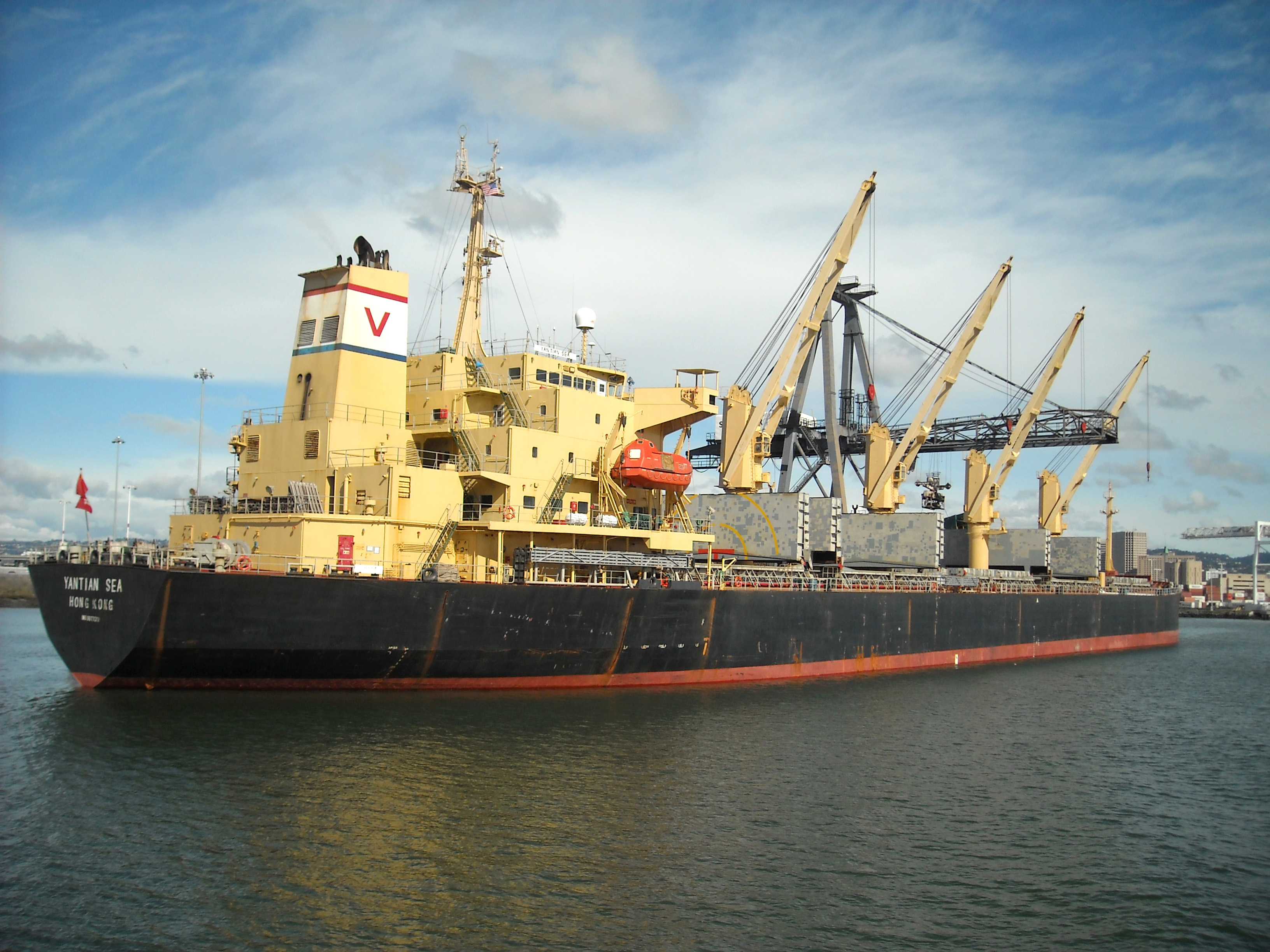 File:Cargo Ship Yantian Sea.jpg - Wikimedia Commons