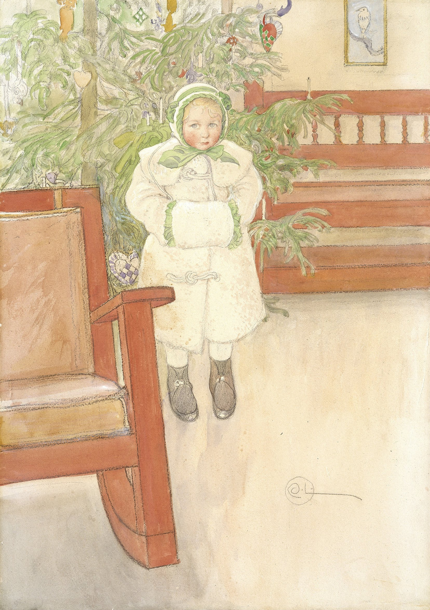 File carl larsson girl and rocking chair google art for Schaukelstuhl wiki