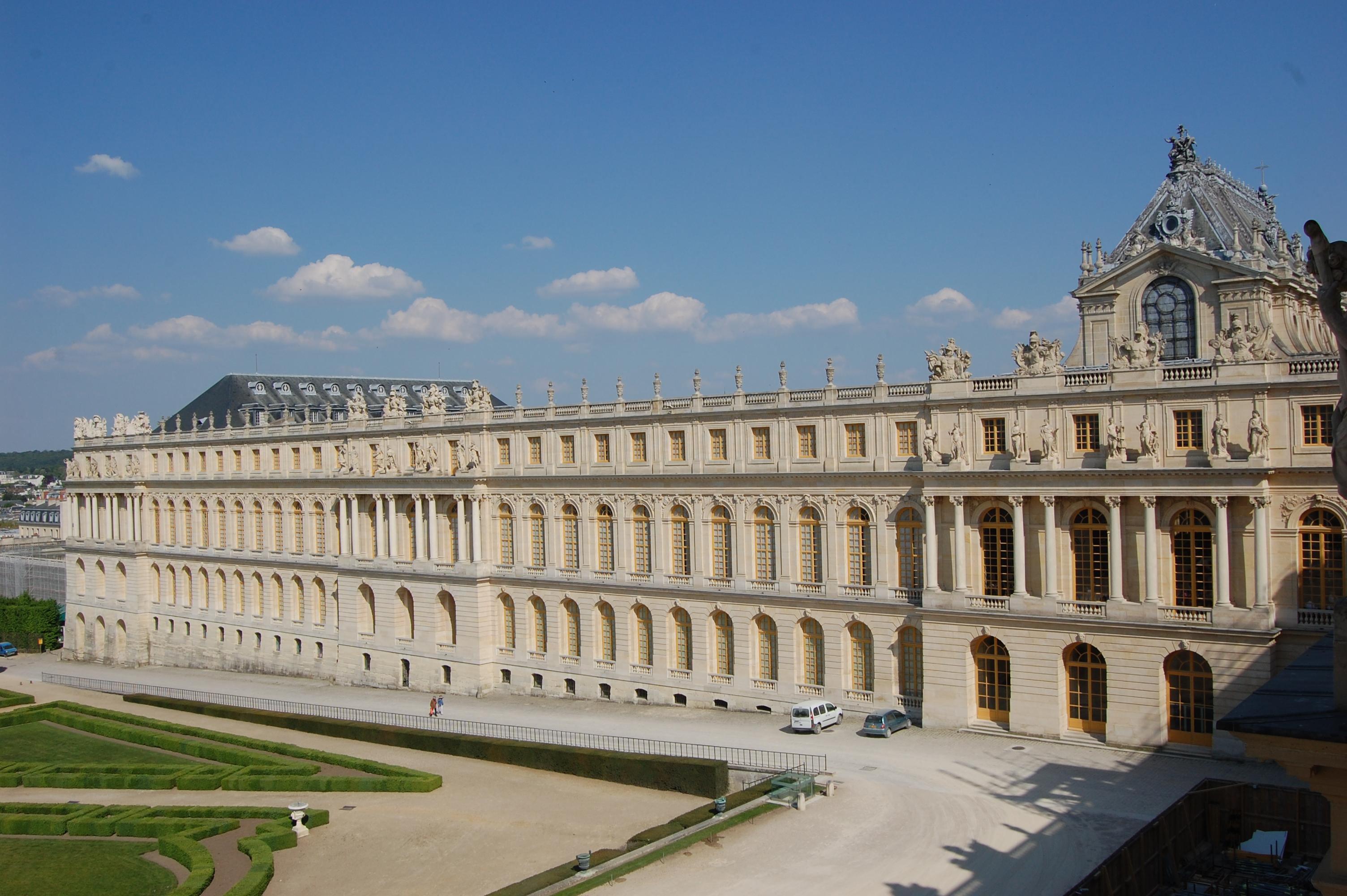 Fichier ch teau de versailles aile du nord vue des appartements de la pompadour dsc - Photo chateau de versailles ...