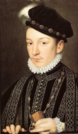 Карл IX, портрет Франсуа Клуэ