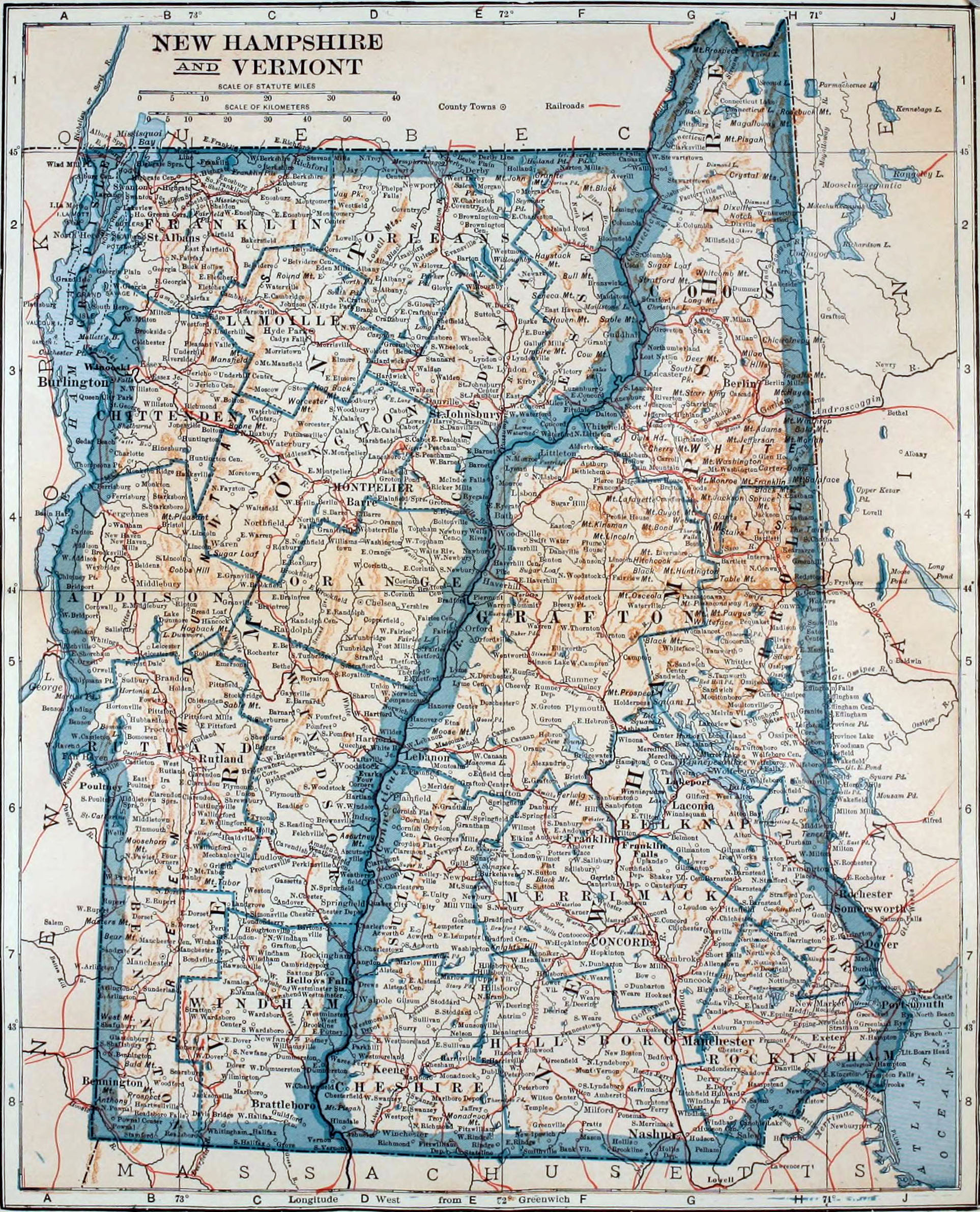 FileColliers New Hampshire And Vermontjpg Wikimedia Commons - Map of vermont and new hampshire