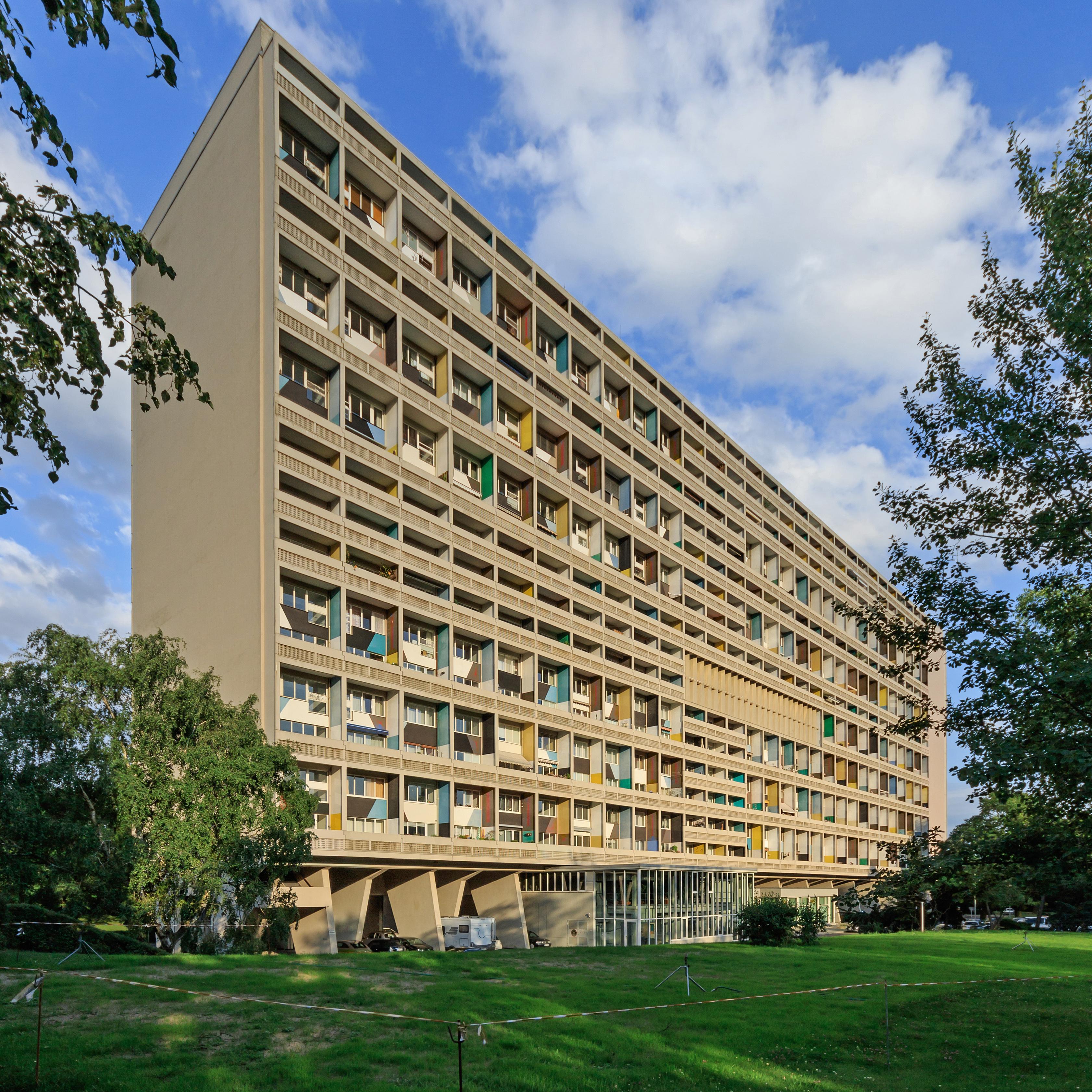 Le Corbusier Unite D Habitation unité d'habitation of berlin - wikipedia