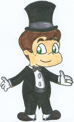 A cute groom I've drawn.