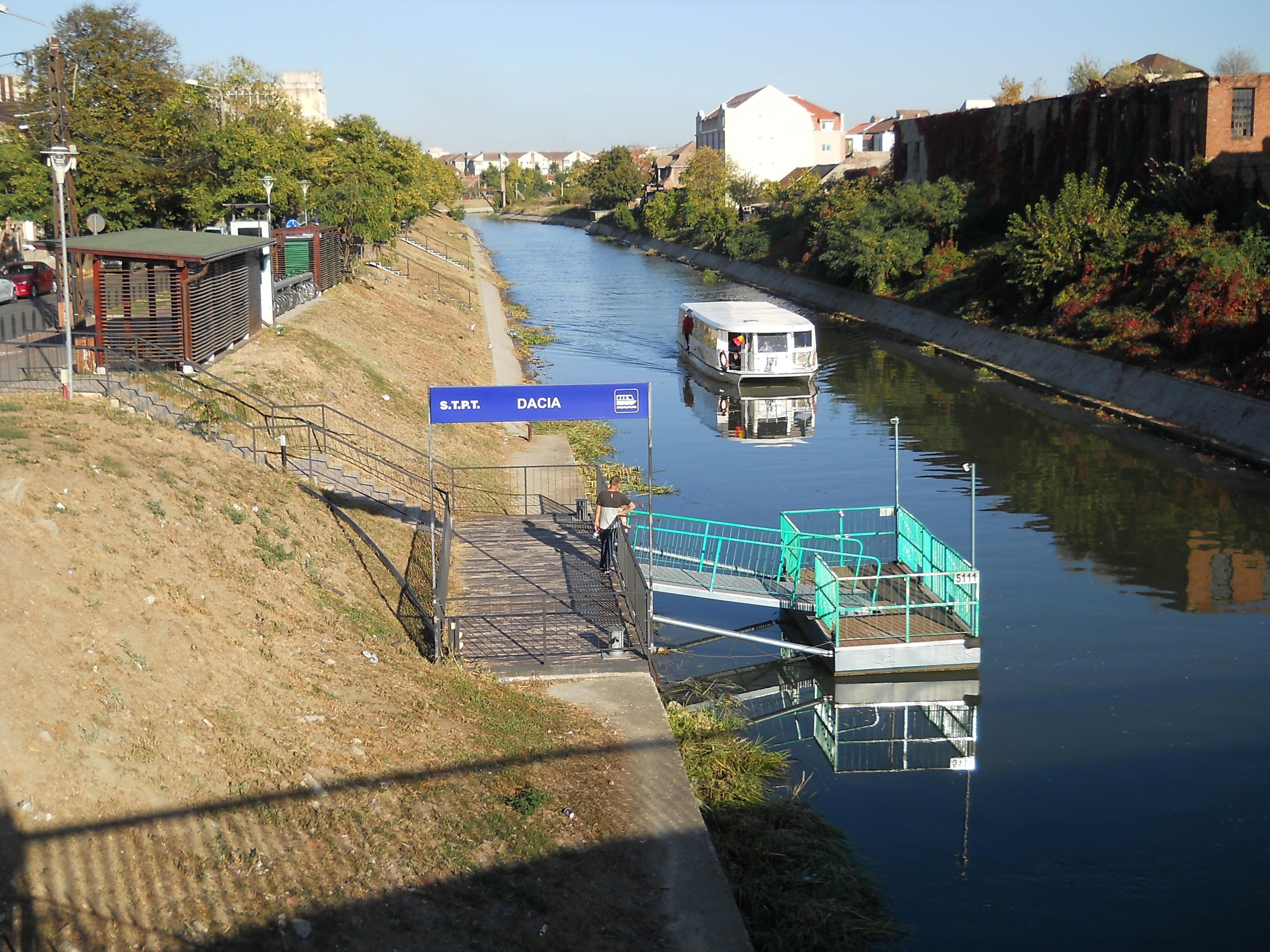 Public water transport in Timișoara - Wikipedia