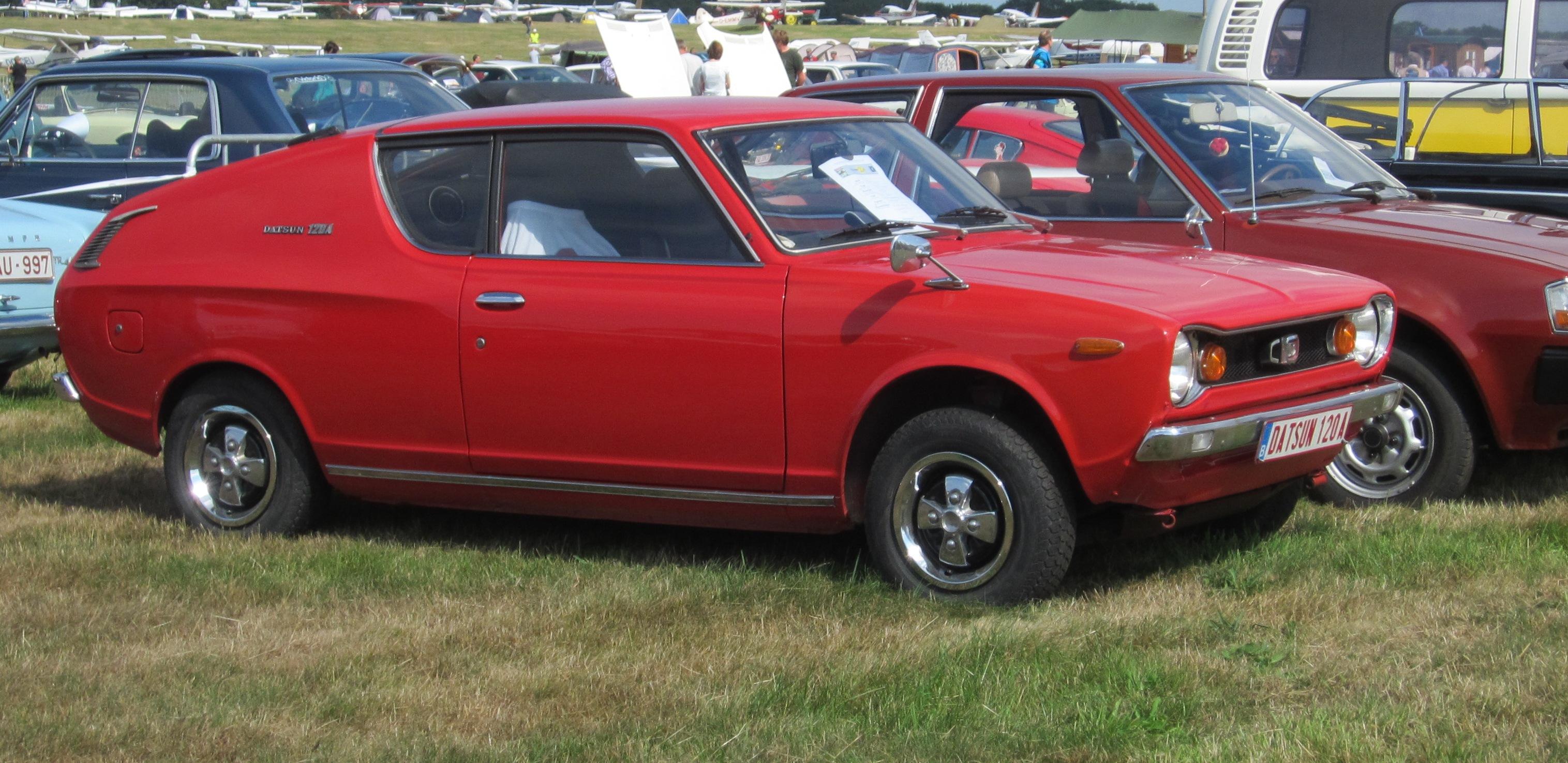 File:Datsun Cherry 120A according to European nomenclature ...
