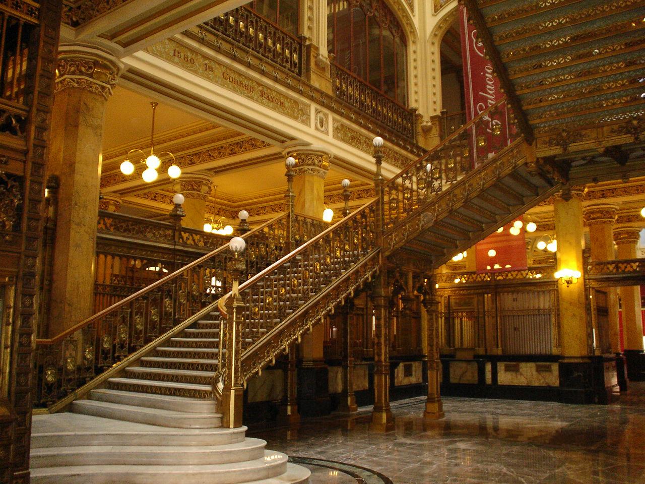 File escaleras del palacio wikimedia commons - Imagenes de escaleras de interior ...