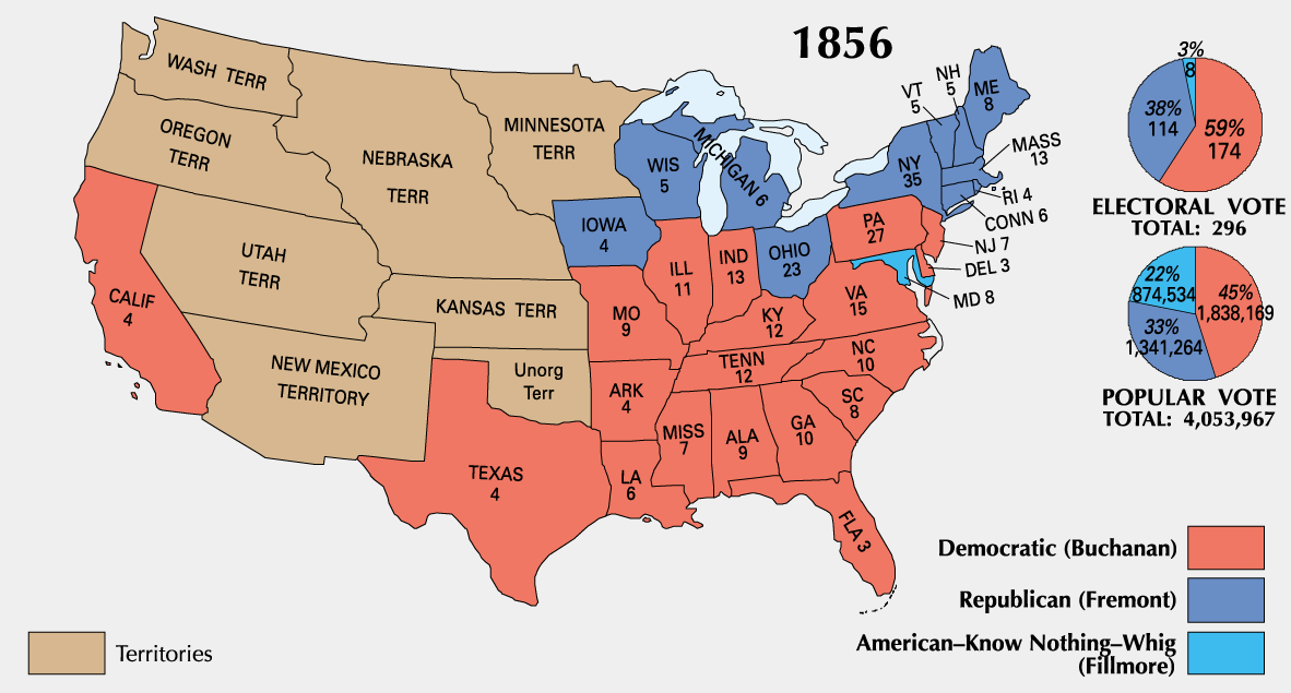 1856 in the United States