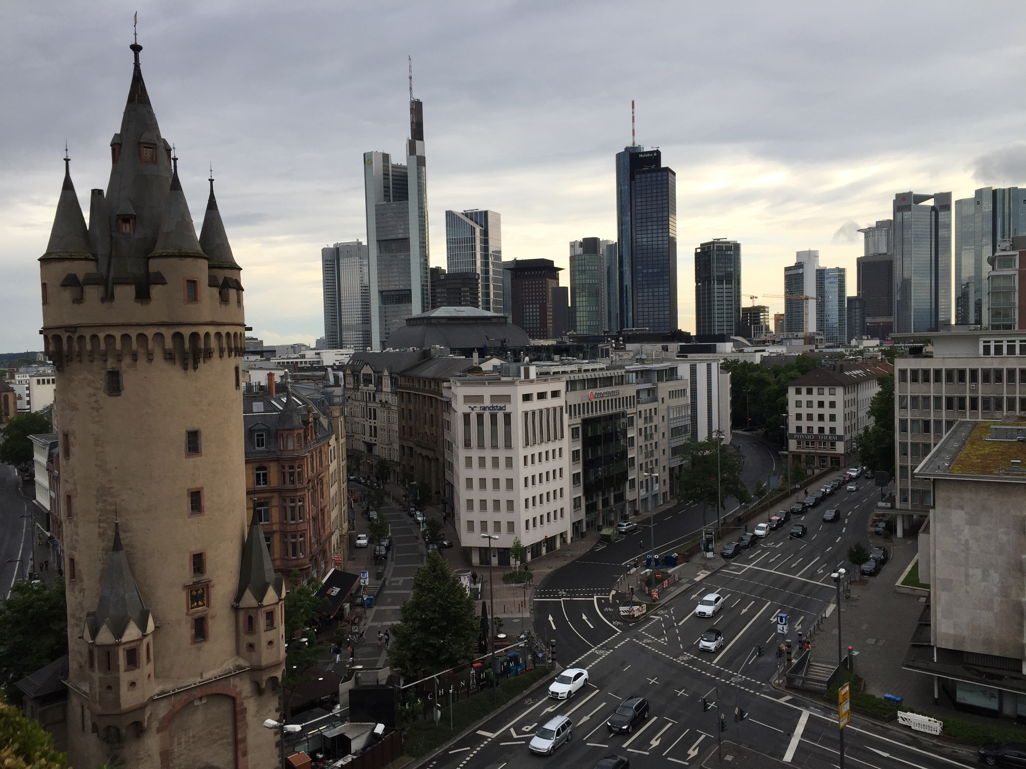 Turm Hotel Frankfurt Telefon