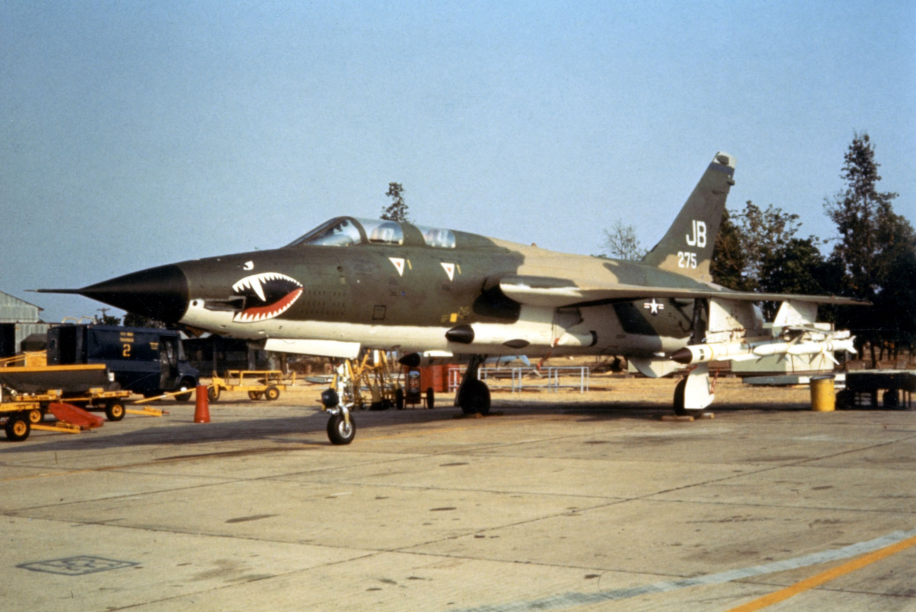 File F 105g 17th Tfs With Six Missiles C1972 Jpg