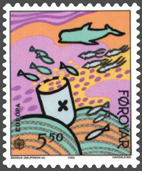Image:Faroe stamp 129 sea pollution - consequences.jpg