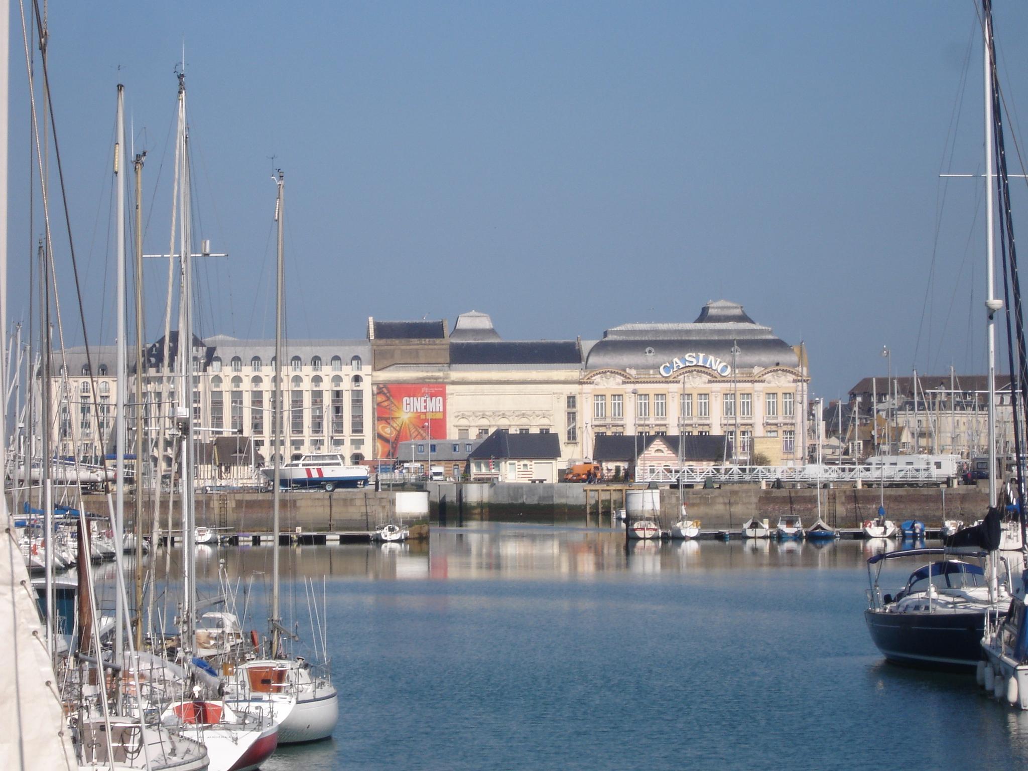 Deauville France  city pictures gallery : Description France Calvados deauville port casino