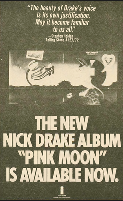 Full Page Promotion of Pink Moon