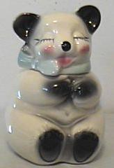 An American Bisque cookie jar using the Funny Animal theme popular in America during the 1950s.