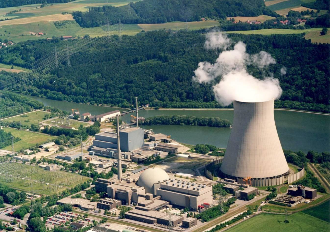 Gelände des Kernkraftwerk Isar (KKI), 2008, Urheber: E.ON Kernkraft GmbH