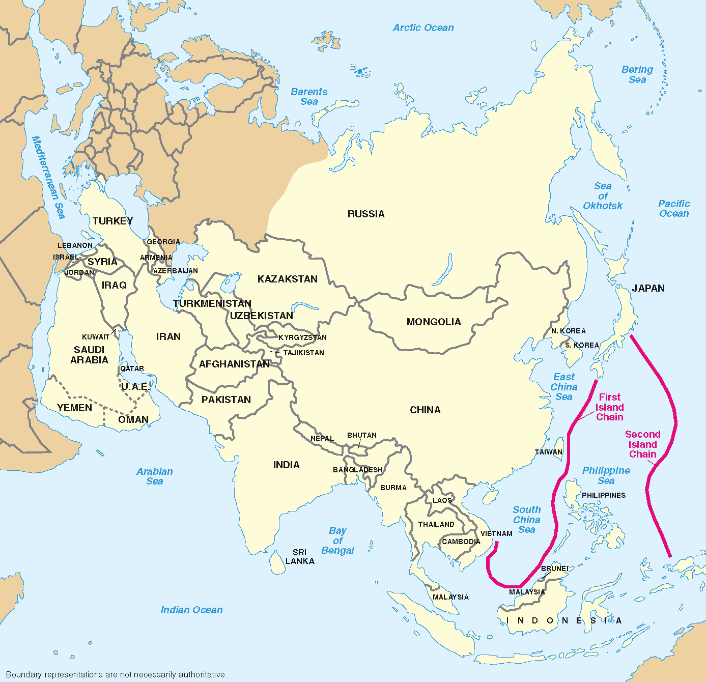 Geographic Boundaries of the First and Second Island Chains.png