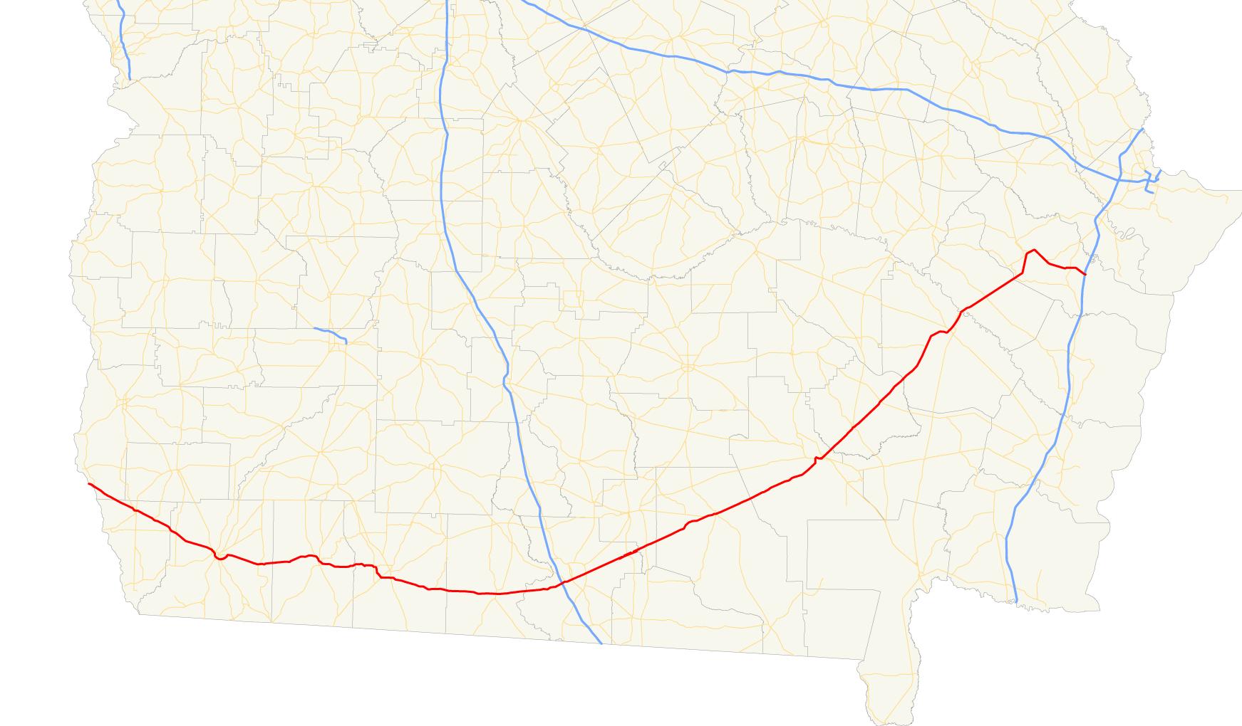 Map Of Cairo Georgia.U S Route 84 In Georgia Wikipedia