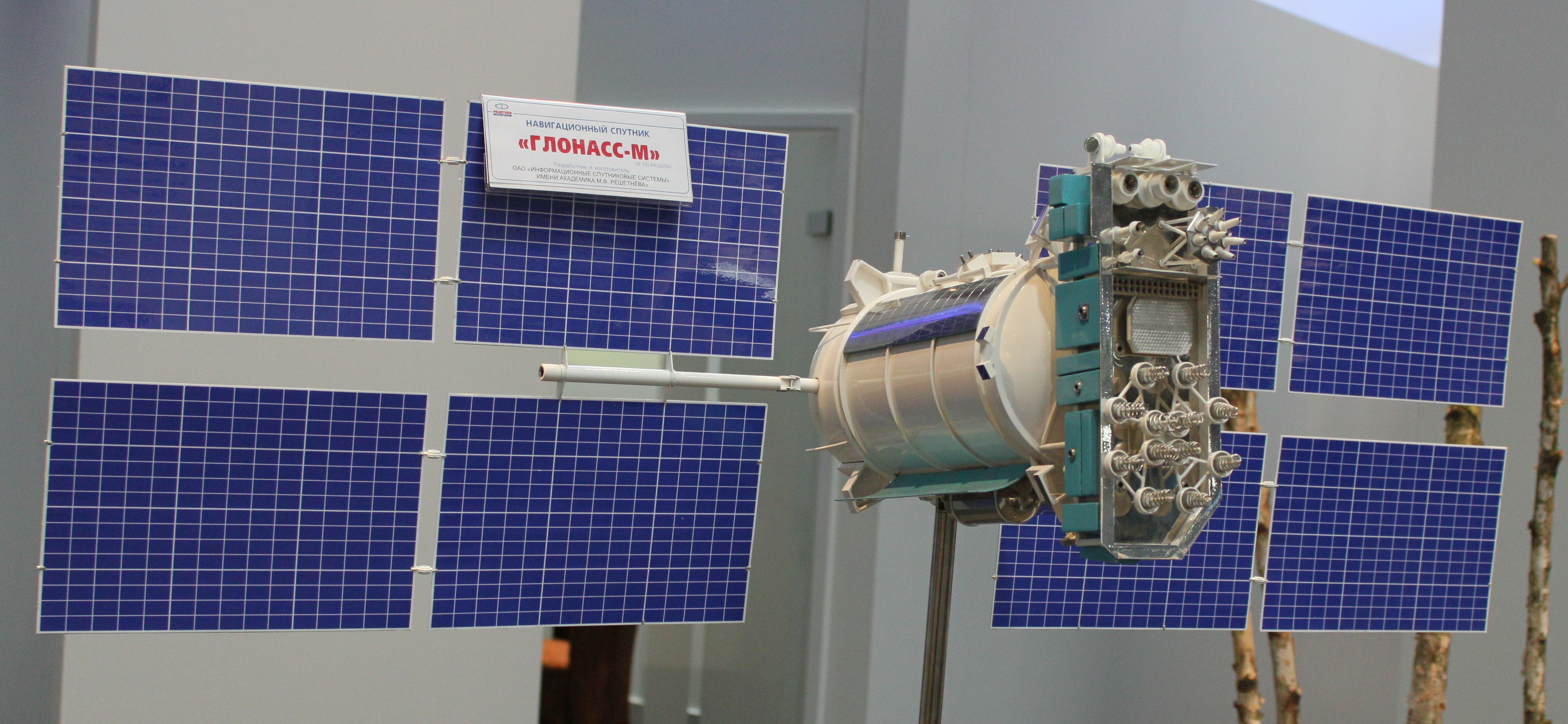 Depiction of GLONASS
