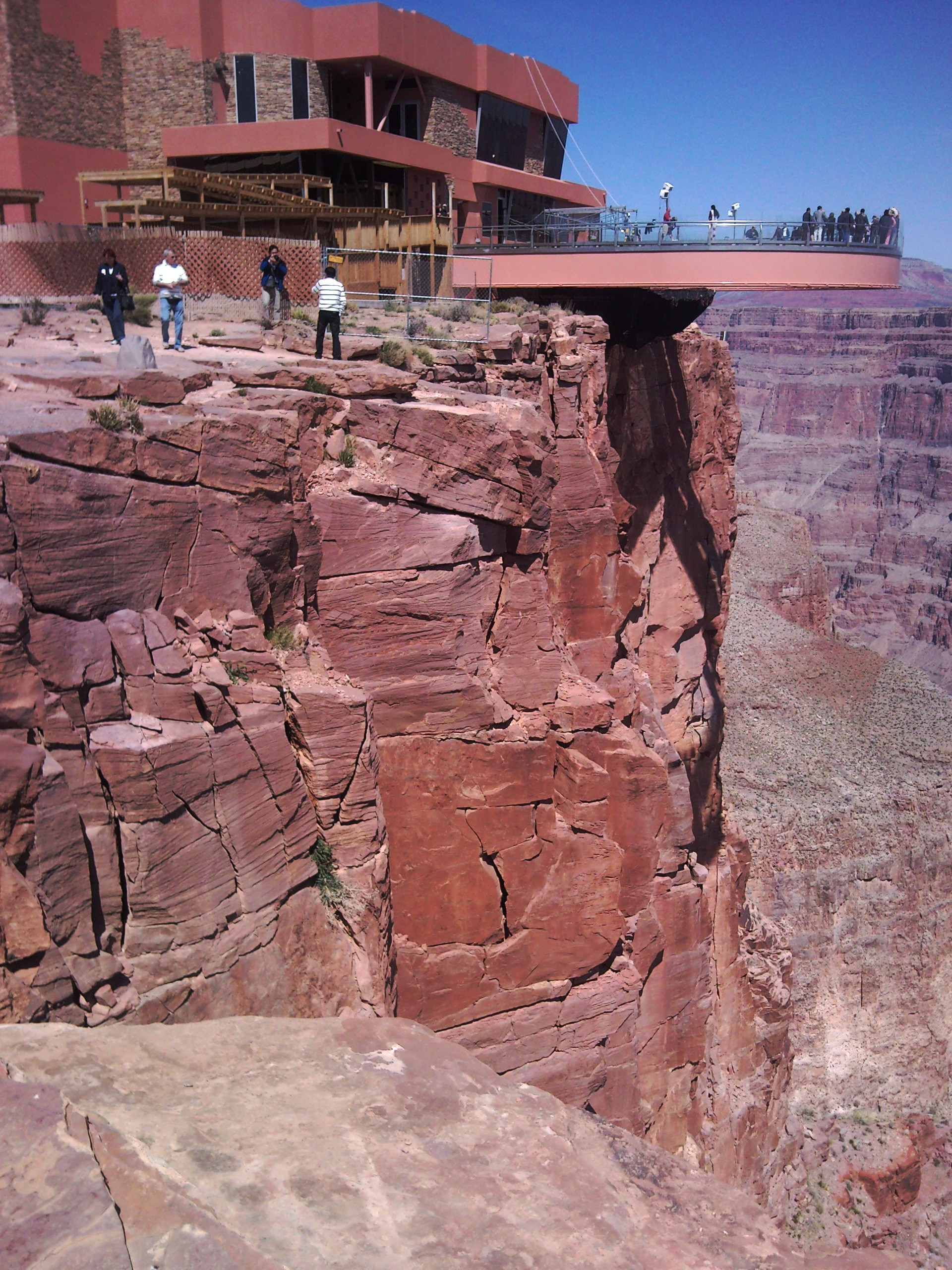 File Grand Canyon West Skywalk Jpg Wikimedia Commons
