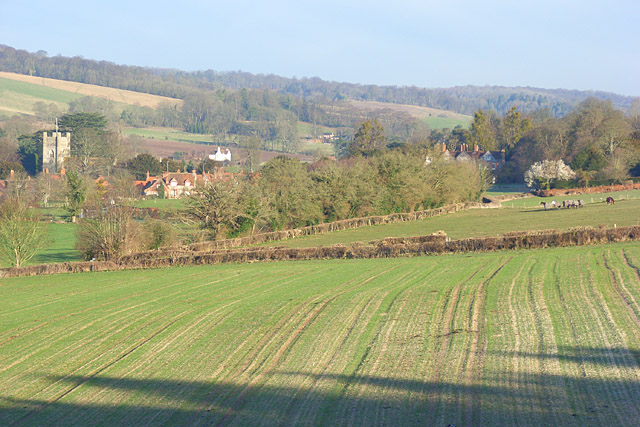 Hambleden Valley - geograph.org.uk - 722046