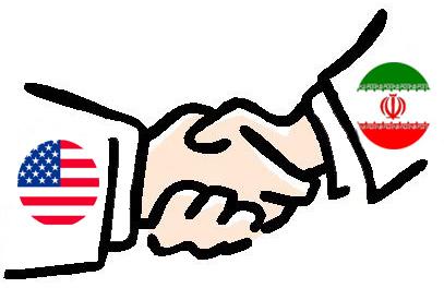 Handshake Iran US