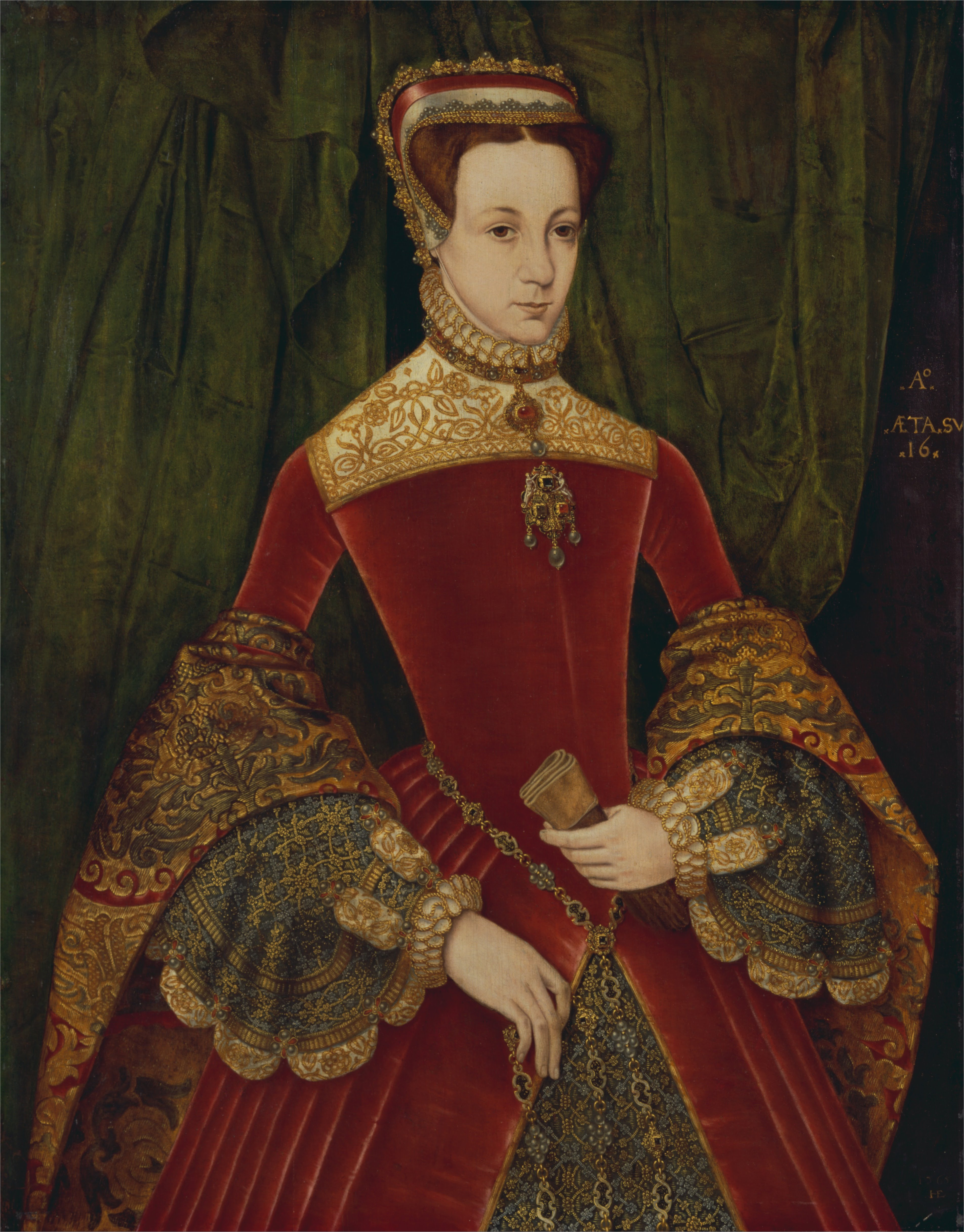 https://upload.wikimedia.org/wikipedia/commons/a/a1/Hans_Eworth_-_Portrait_of_a_woman%2C_aged_sixteen%2C_previously_identified_as_Mary_Fitzalan%2C_Duchess_of_Norfolk%2C_1565_-_Google_Art_Project.jpg