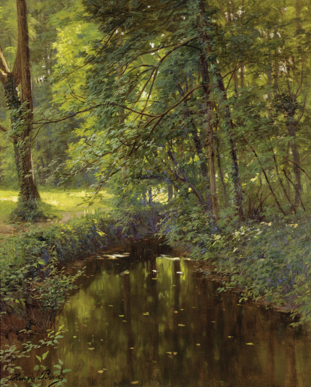 File Henri Biva La Riv 232 Re Oil On Canvas 61 5 X 50 5 Cm