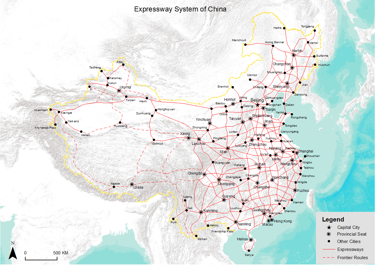 Image result for chinese road network