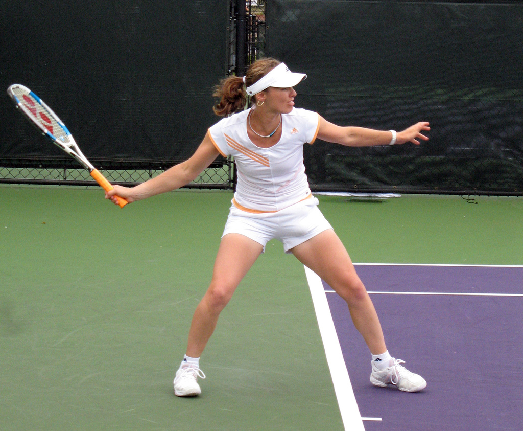 Martina Hingis in Miami,