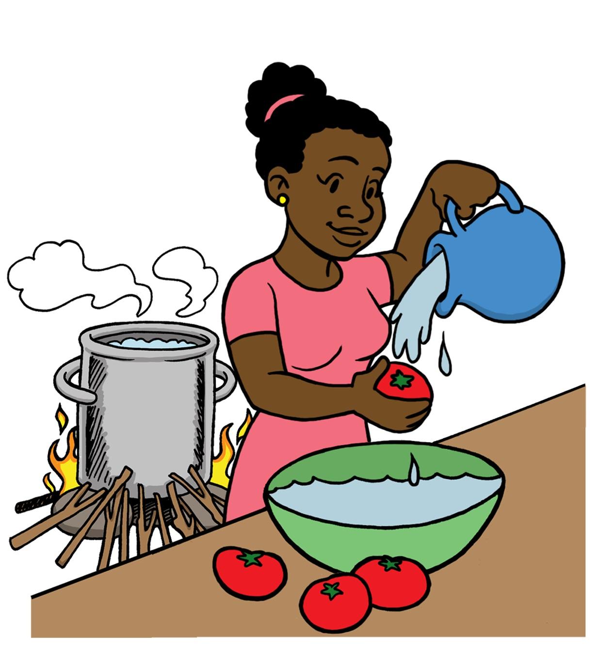 File:Hygiene Washing Vegetables (19722650368).jpg ...