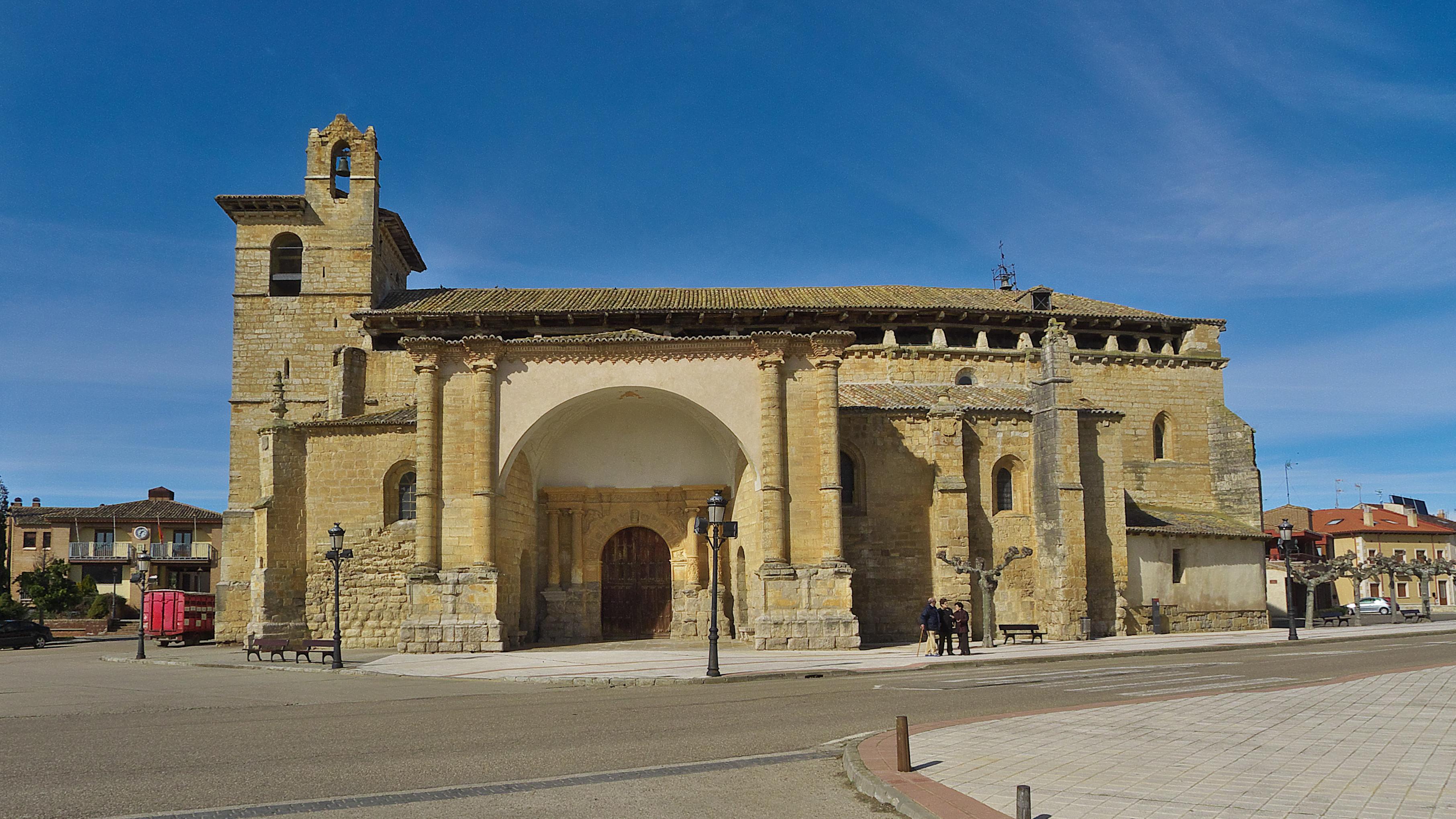 Archivo:Iglesia de San Pedro (Frómista). Fachada.jpg - Wikipedia ...
