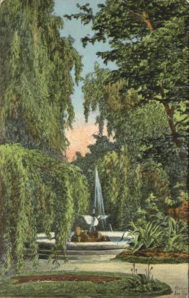 Isny Stadtpark Eugen Felle