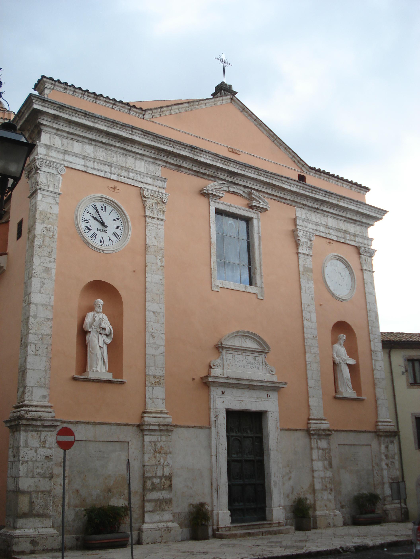 Chiesa di San Nicola San Vittore Del Lazio Parrocchia di San Lorenzo a