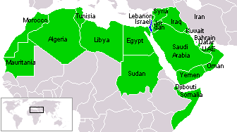 File:Israel and Arab states map n.png   Wikimedia Commons