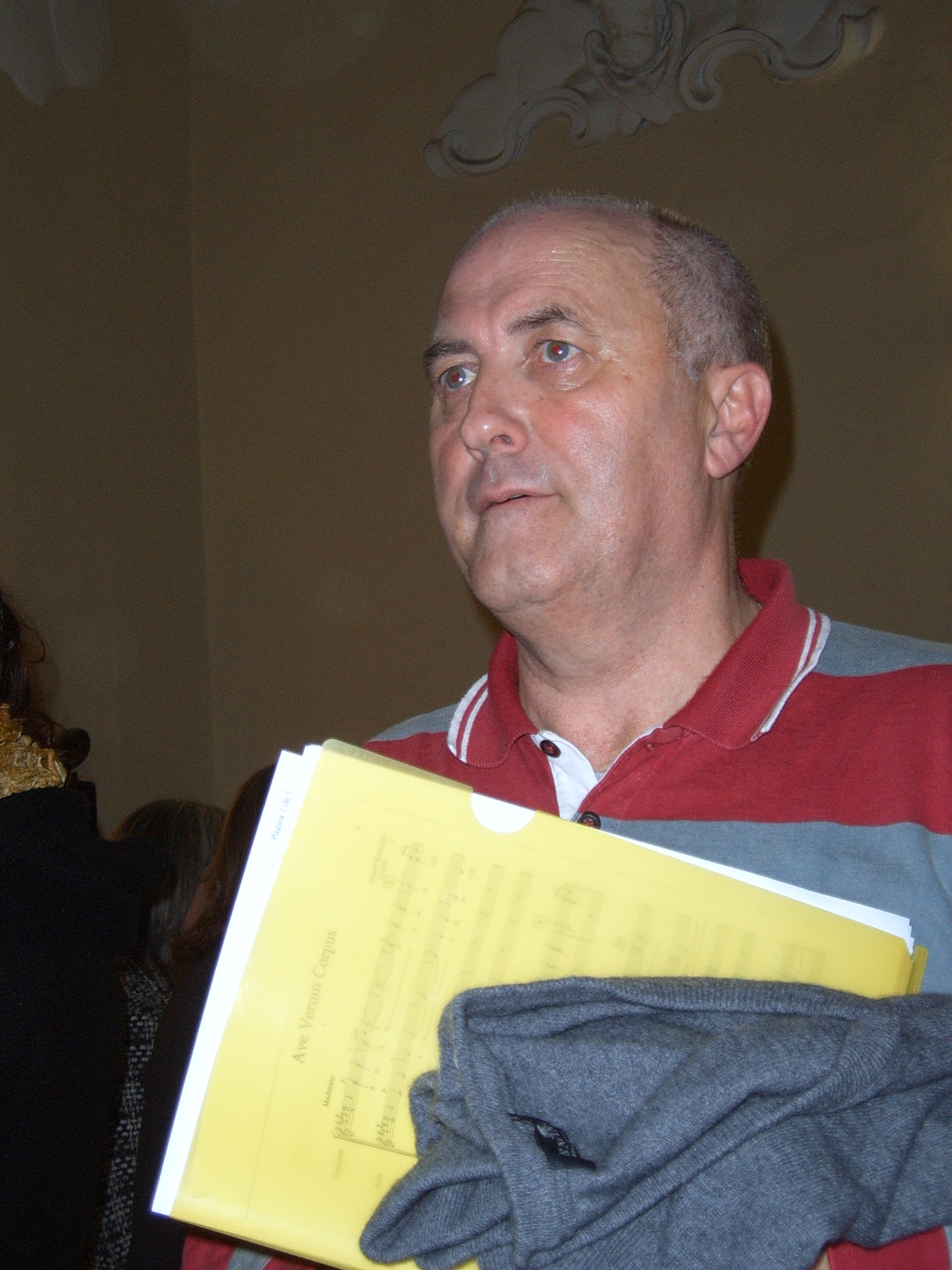 Javier Busto en 2006
