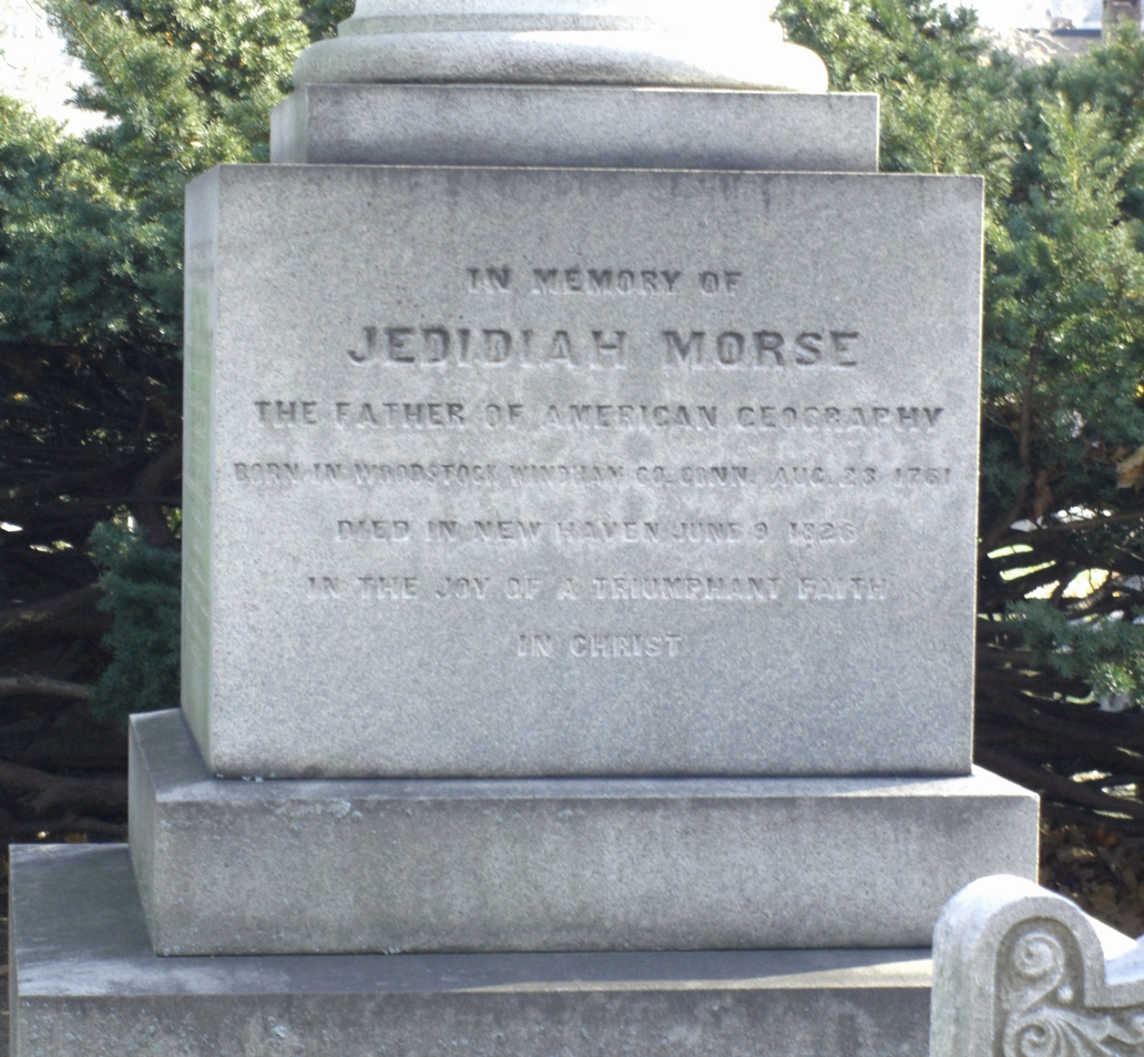 Morse's gravestone at the Grove Street Cemetery in New Haven.