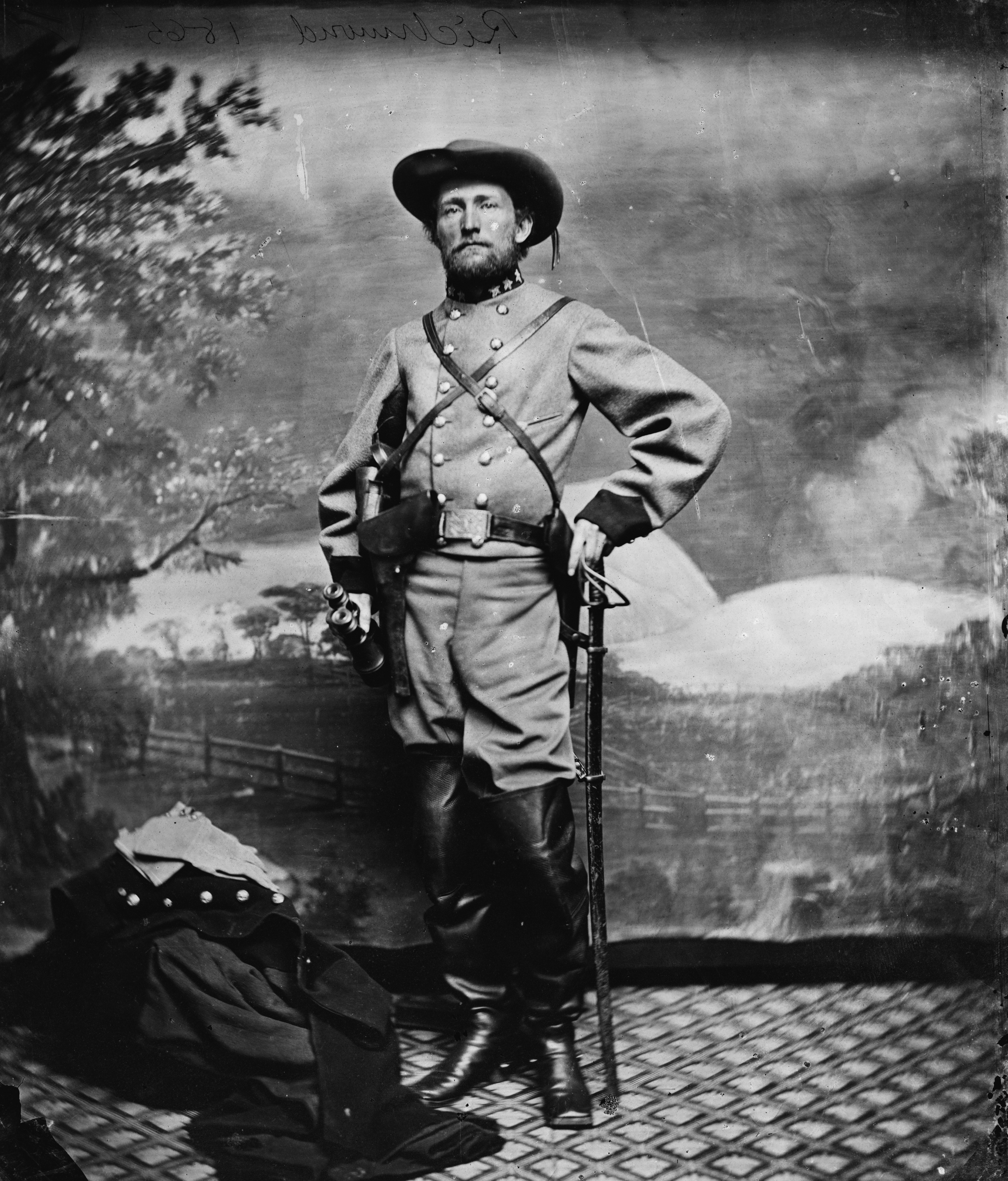 6 Sizes! Confederate /'Gray Ghost/' John Singleton Mosby New Civil War Photo