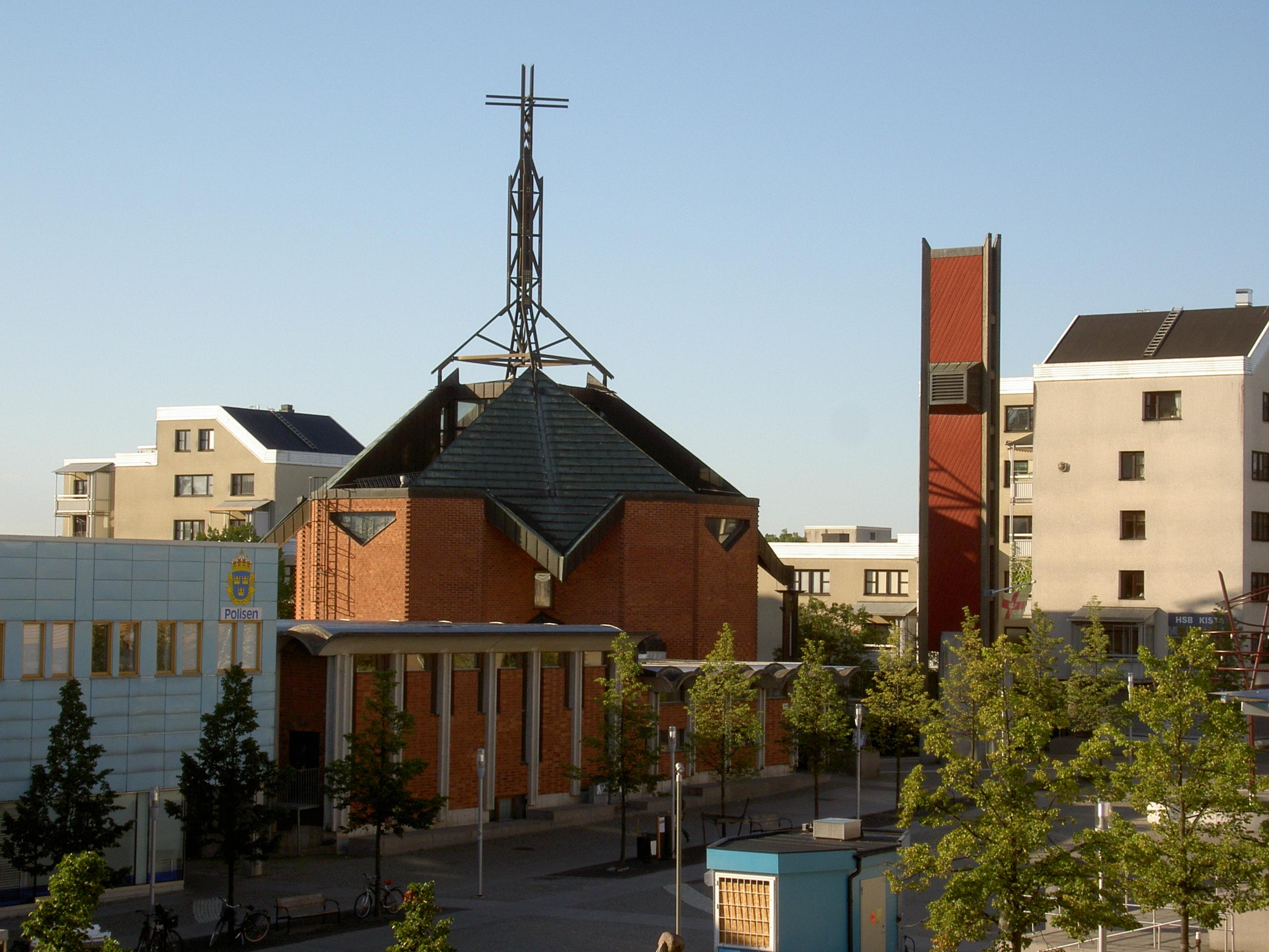Bild av Kista kyrka